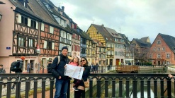 Lara The Explorer and family at Colmar
