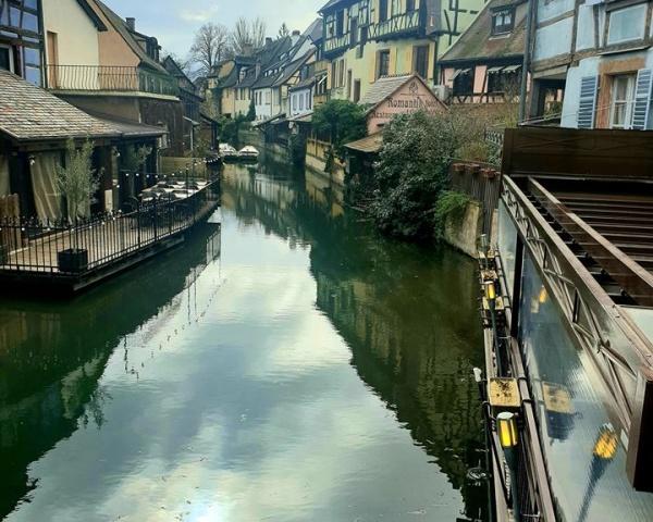 Lauch river in Colmar