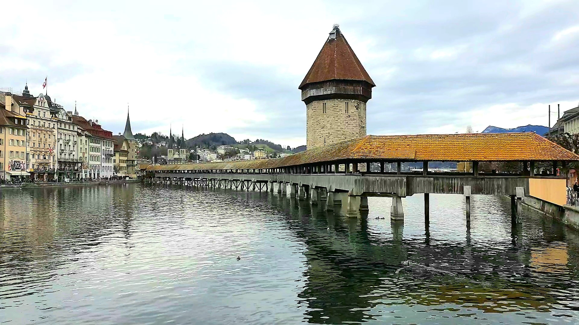 The Old Bridge of Lucerne