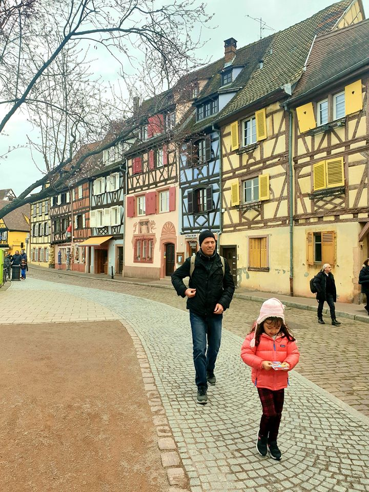 Walking the streets of Colmar