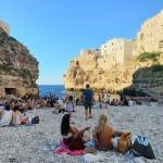 The Beach of Polignano a Mare