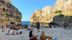 The Beach of Polignano a Mare