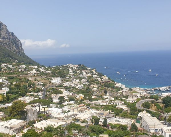 Capri from the top