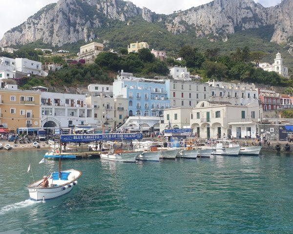 Capri, the harbour