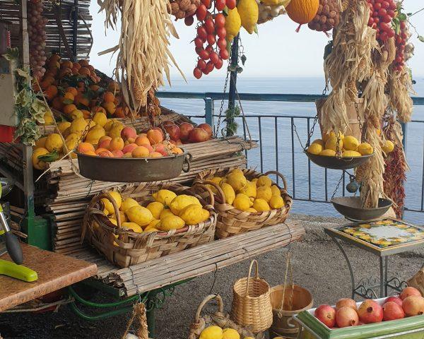Lemons shop on the Amalfi Coast
