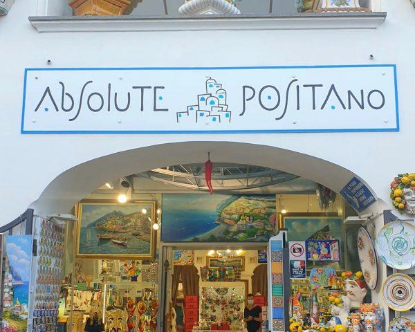 Shop in positano